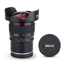 Meike 8mm f/3.5 Wide Angle Fisheye Lens for Sony Alpha DSLR  Camera with APS-C