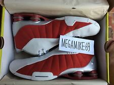 VNDS Nike Shox BB4 White / Varsity Red Original Issue Sz 11.5 Vince Carter Boing