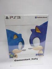 SONIC GENERATIONS COLLECTOR'S EDITION (PS3) PAL VERSION NUOVO NEW SEALED