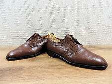 Loake Uomo Pieno Fiore Derby robusto Tan Goodyear guardolo cucito UK 10 US 11 EU 44