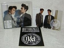 DONGHAE & EUNHYUK RIDE ME 2014 Taiwan Ltd CD+DVD+Postcard+Sticker (Super Junior)