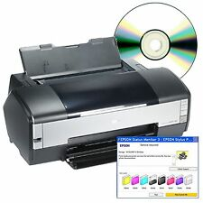 Epson Stylus Photo 1400 Service Repair Waste Counter CD