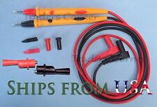 "Amprobe test leads /Probes & Clips Fluke & Other Multimeters 42"" Long"