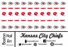 NFL - Kansas City Chiefs Waterslide Nail Decal - 50 PC