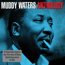 Muddy Waters THE ANTHOLOGY Best Of 75 SONG COLLECTION New Sealed 3 CD