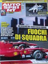 Autosprint 38 2010 Serve gioco di squadra alla FERRARI Massa Alonso  [SC.49]