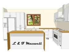 Complete Kitchen with high gloss door