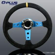 Universal Racing Style 330mm Alloy Steering Wheel Black