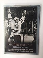 2015-16 SP Authentic Wayne Gretzky All-Time Moments #135