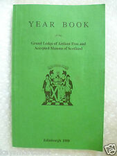 Masonic Yearbook 1988 Grand Lodge of Antient Free & Accepted Masons of Scotland