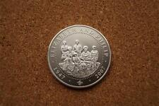 THE QUEEN & PHILLIP 2007 COOK ISLAND PROOF LIKE DOLLAR 38MM