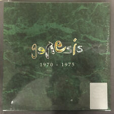 GENESIS 1970-1975 200 GR. 1/2 SPEED LTD TO 1000 RARE SEALED 5 LP vinyl BOX SET