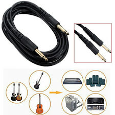 3M 10FT 6.35mm Guitar AMP Instrument Patch Straight JACK Male Lead Cable Cord JR