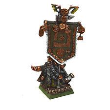 DWARFS Dwarf Battle Standard Finecast #1 PRO PAINTED Warhammer Fantasy