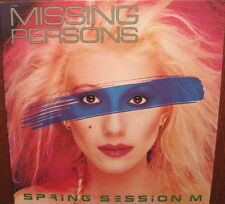 MISSING PERSONS - Spring Session M - LP CDN 80s New Wave Synth PoP oop  L@@K