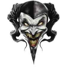 EURO 6 STAGE MULTI LAYER STEP BY STEP AIRBRUSH DEMON CLOWN STENCIL TEMPLATE