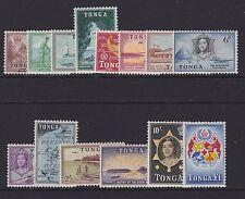Tonga - 1953 QE set a £ 1 MINT sg.101-114 (ref.d236)