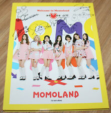 MOMOLAND 1ST MINI ALBUM Welcome to Momoland REAL SIGNED AUTOGRAPHED PROMO CD #3