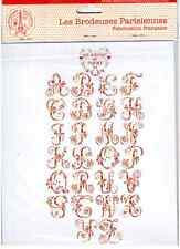 LBP Cross Stitch Tendance  Embroiderer's Alphabet Chart Veronique Enginger