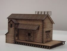 Z SCALE TOMPKINS TRADING CO. LASER CUT FULLY ASSEMBLED