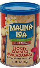 Macadamia Nuts  Mauna Loa Honey Roasted Macadamias 4.5oz can