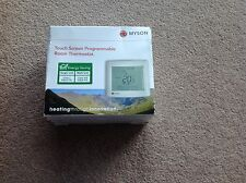 myson touch screen programable room thermostat