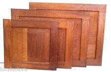 "30"" x 10"" RAISED PANEL KITCHEN CABINET DOOR unfinished SOLID WOOD Cedar Peruvian"