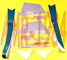 SERIE DECALCO ADESIVI FIANCATE CODINO APRILIA AF1 125 REPLICA DEL 1987 AP8111757