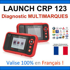 ★ EXCLUSIVITE ★ VALISE DIAGNOSTIC PRO MULTIMARQUES LAUNCH CRP 123 OBD2