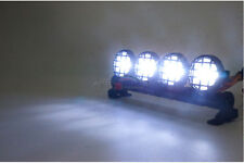 T White LED Spotlight Lights Bar f 1:10 Off-Road Buggy Traxxas Truck HSP RC Cars