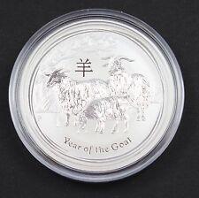 2015 Australia 1/2 oz Silver Lunar Goat Coin