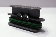 Lego Technic 3 Large Green Rubber Belts & Holder Mindstorm NXT NEW
