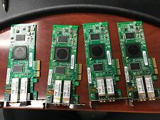 Lot of 4 Sun 4GB PCI-E Dual Fibre Host Adapter 375-3356 QLE2462-SUN