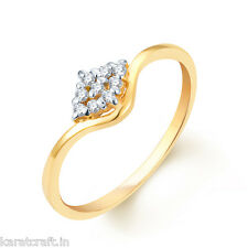KaratCraft.In 22Kt Hallmarked Gold Ratnabali Ring RGA0024