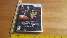 NINTENDO WII METROID OTHER M VIDEO GAME (NEW & SEALED)