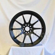 ROTA WHEEL DPT 18X9.5  5X100 & 5X114.3 44 FLAT BLACK