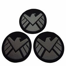 Marvel Comics Agents of S.H.I.E.L.D. Silver Hawk Embroidered Patch Set of 3