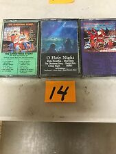 (3) NEW SEALED Assorted Christmas Music Cassette Tapes  (G) (14)