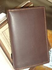 "Buxton ""America Strong"" Genuine Leather Trifold Wallet,Brown"