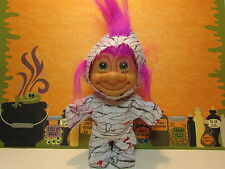 "HALLOWEEN MUMMY - 5"" Russ Troll Doll - NEW IN ORIGINAL WRAPPER"