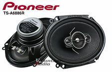 "Pioneer Ts-A6886R 6X8"" 4-Way 60W Rms 350W Max 4 Ohm A-Series Speaker Direct Fit"