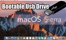 Mac Os X Sierra 10.12 Bootable USB Drive Upgrade or Fresh Install