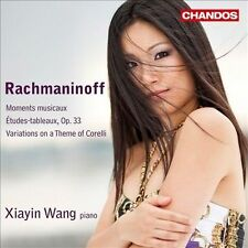Rachmaninoff: Moments musicaux; Etudes-tableaux, Op. 33; Variations on a Theme o