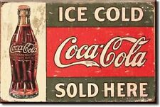 """2"""" X 3"""" ICE COLD COCA-COLA SOLD HERE REFRIGERATOR MAGNET NEW"""