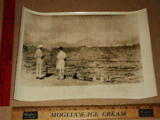 Rare Historical Orig WW2 British & Allied Pacific Fleet Sagami Bay Photo 1945