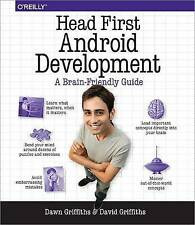 Head First Android Development Griffiths  Dawn 9781449362188