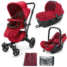 "Concord Neo travel set sleeper 2.0 & Air. safe ""ruby red"""