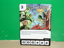 DICE MASTERS DC War of Light Basic Action Card - Heroic Defense (only card)