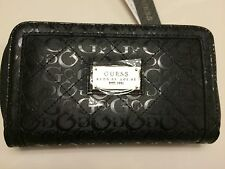 Guess Wallet/Clutch Zip Around Women's Color Black NWT 100% Authentic