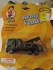 Krazy Kids Army Vehicle Tow Truck